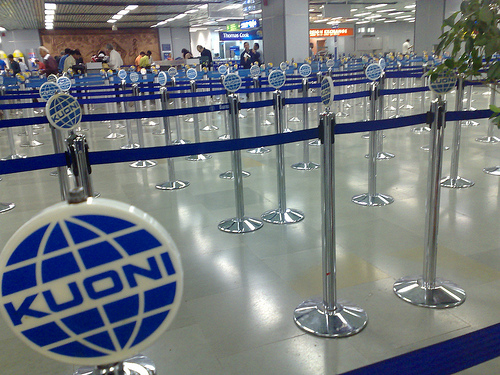 ドンムアン空港 イミグレーション 8つ増設