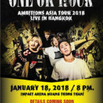 バンコク ONE OK ROCK AMBITIONS ASIA TOUR 2018