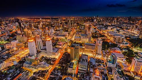 バンコク 景色 夜景 キレイ ホテル