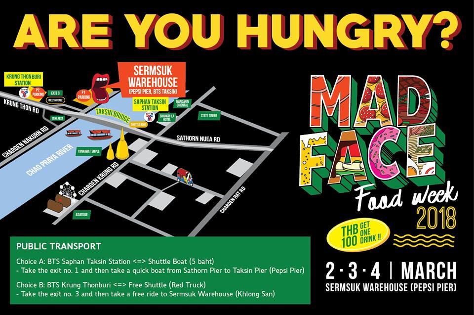 Mad Face Food Week@クルントンブリー!