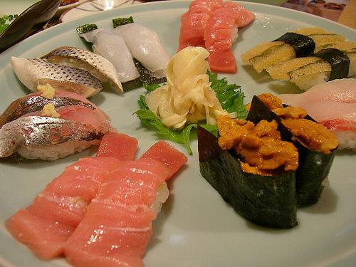バンコクの寿司