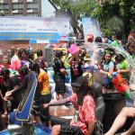 ソンクラン水かけ祭り日本