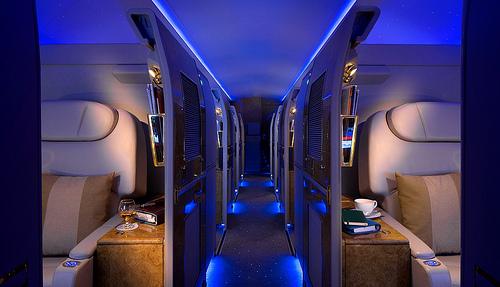 エミレーツ航空ファーストクラス