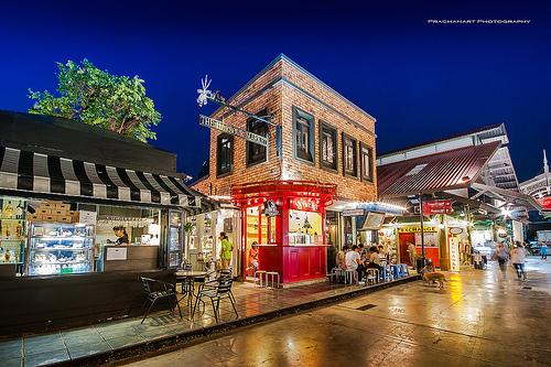 ナイトマーケット バンコク