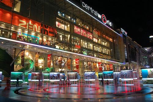 タイのショッピングモールはコンパクトシティ