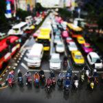 バンコクの夕方 世界最悪の渋滞