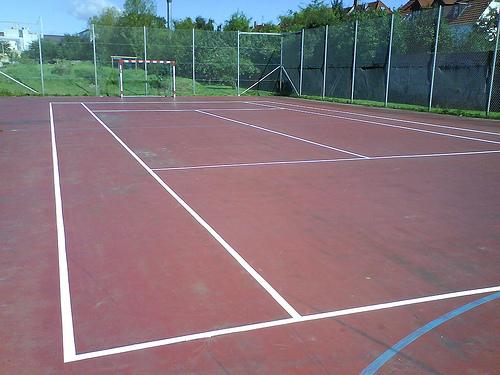 テニス教室 マッチ工場から転換