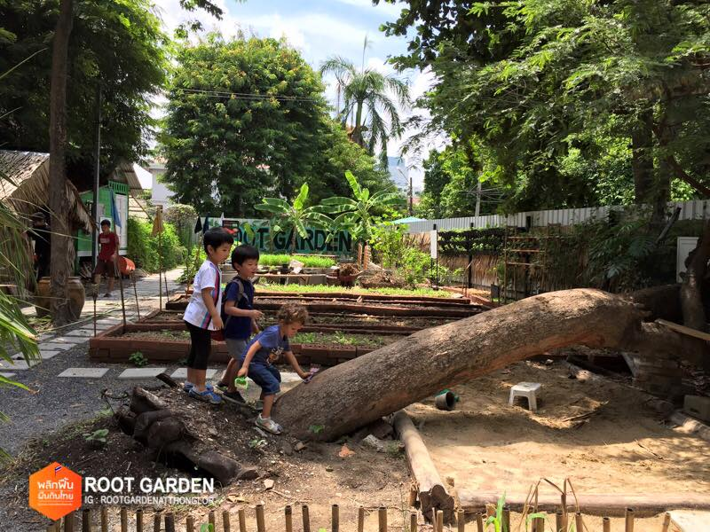 Root Garden At Thong Lor