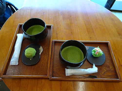 抹茶カフェ CHAHO セントラルワールド
