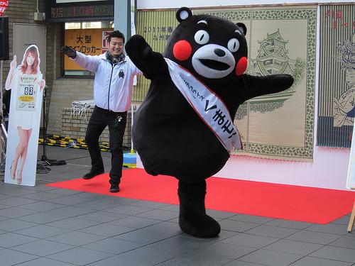 くまモン・マラソン バンコク