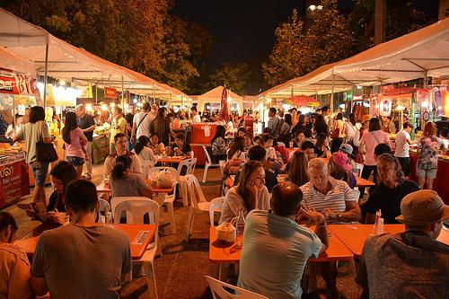 バンコクのナイトマーケット