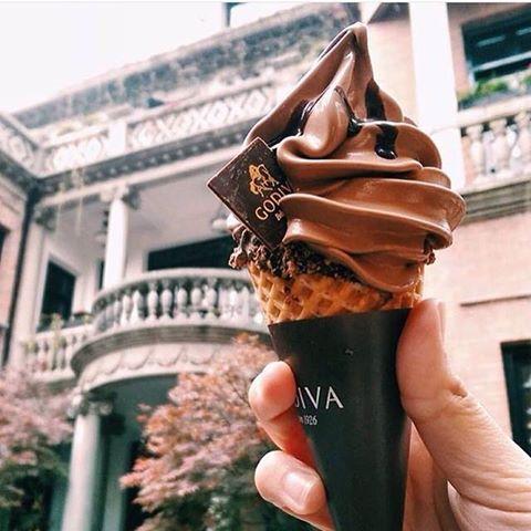 ゴディバ チョコソフトクリーム