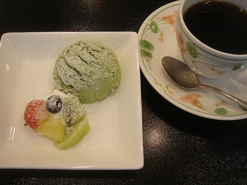 バンコクの抹茶デザート