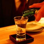 日本酒 角打ち 試飲 パークレーンの折原商店