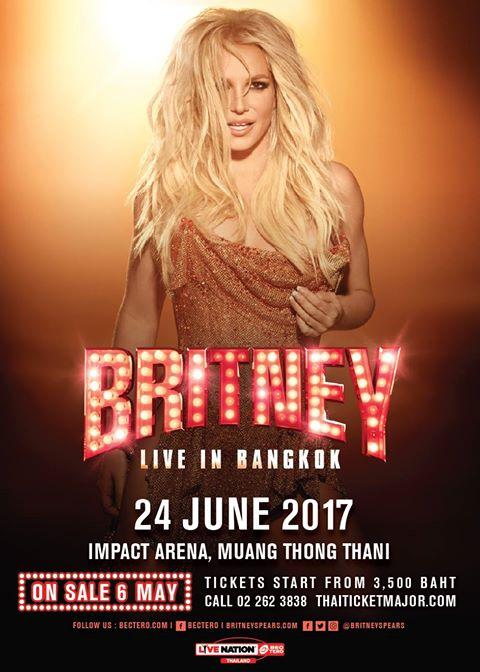 BRITNEY SPEARS LIVE IN BANGKOK 2017