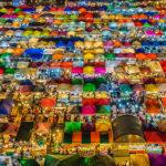 バンコク郊外 フアムム ナイトマーケット
