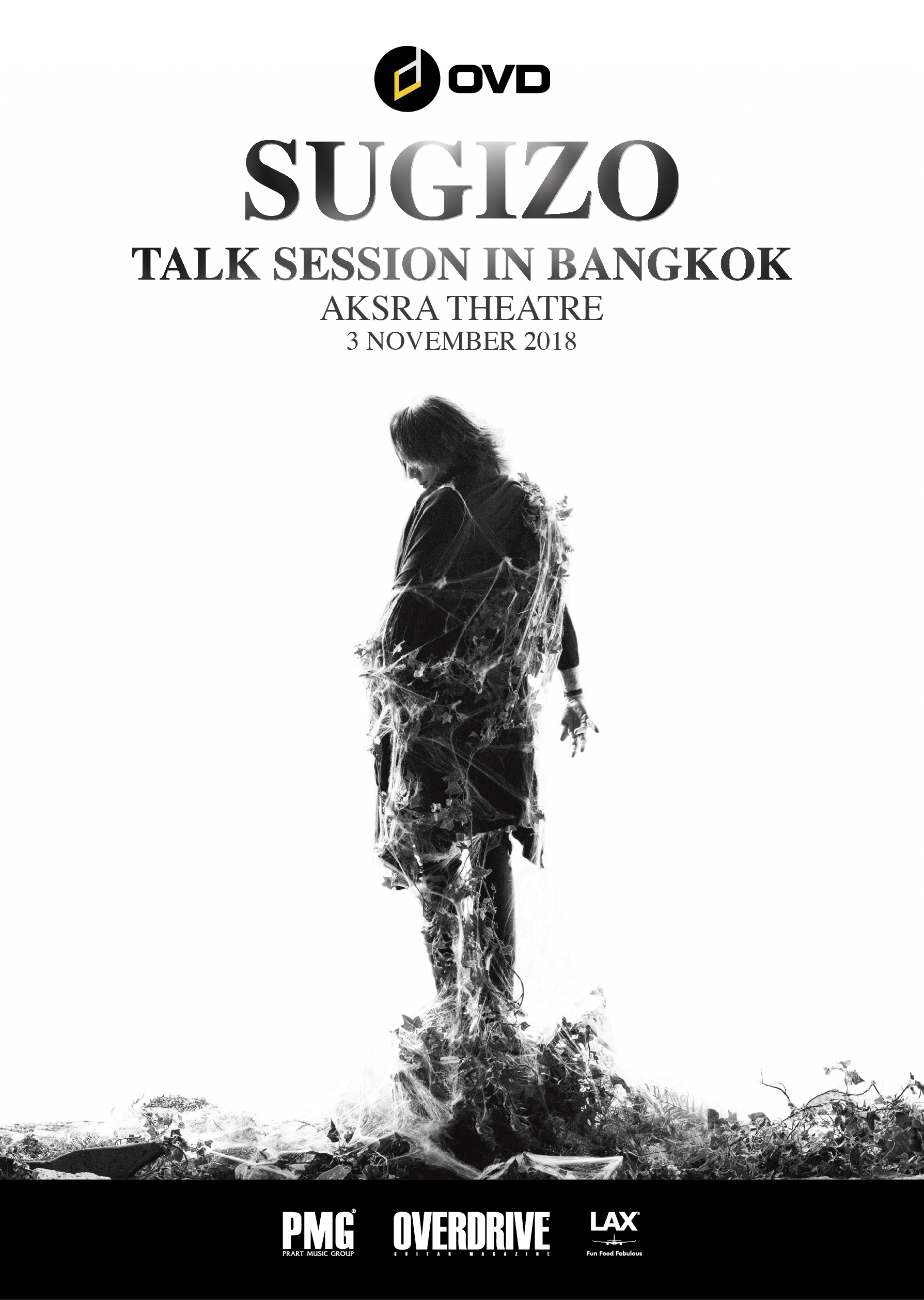 SUGIZO TALK SESSION IN BANGKOK@Aksra Theatre!
