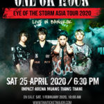 ONE OK ROCK@バンコク タイ!