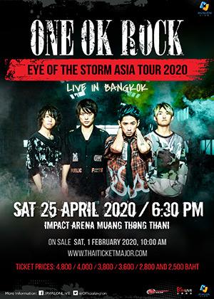ONE OK ROCK@バンコク タイ!
