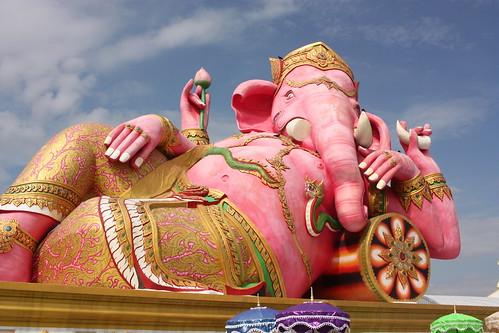 Pink Ganesha photo